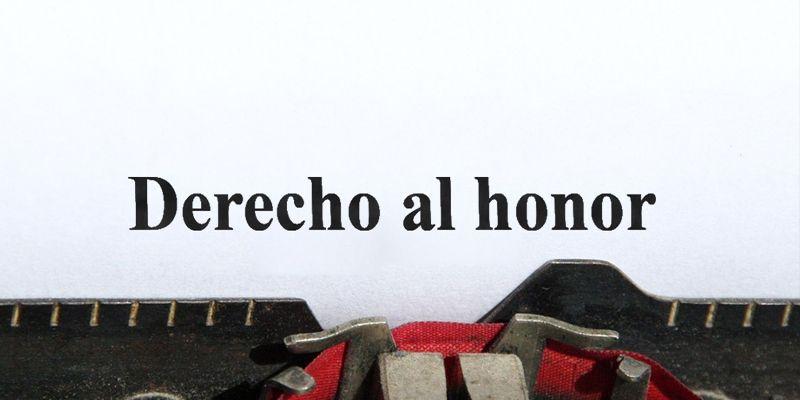 Vulneración DERECHO AL HONOR